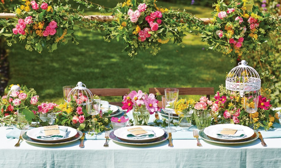 Garden Theme Wedding Ideas